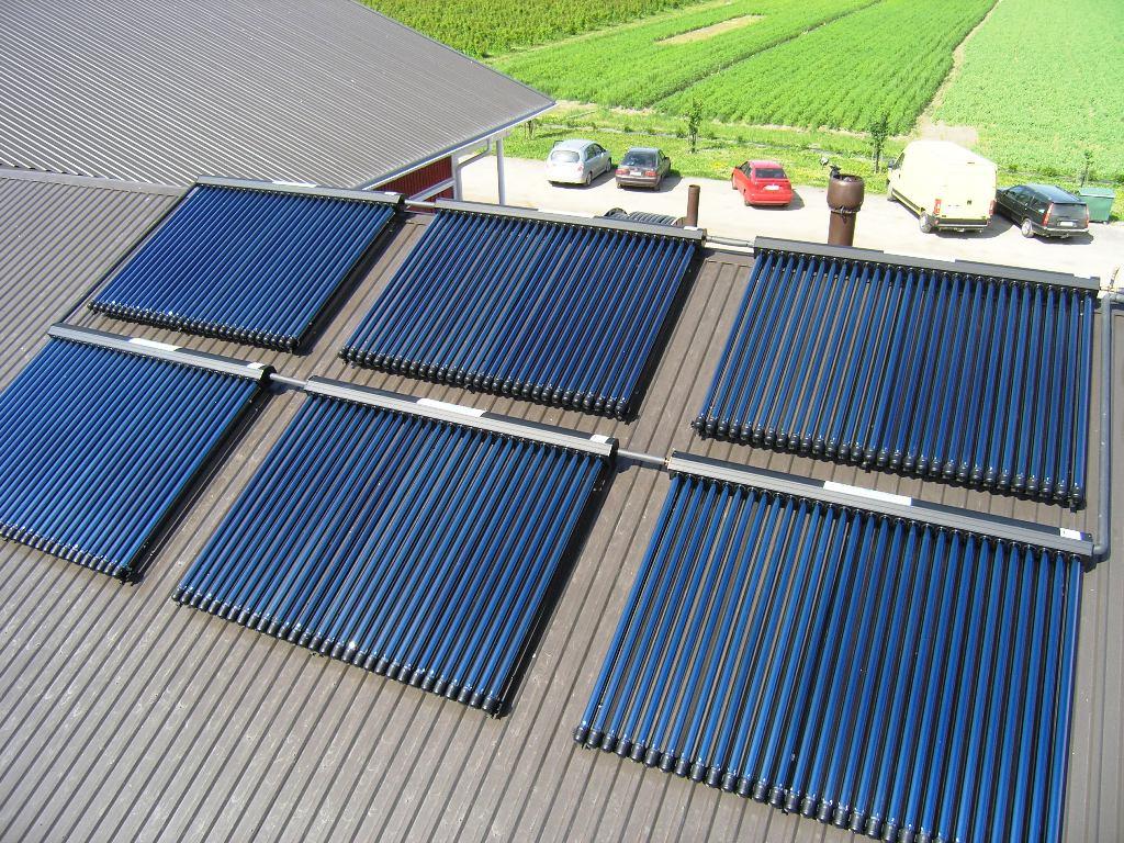 Sistema de Aquecimento Solar em uma Propriedade Rural